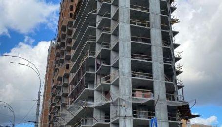 Динаміка будівництва житлового комплексу GENESIS станом на 20 жовтня 2020 року