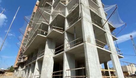 Динамика строительства жилого комплекса GENESIS по состоянию на 06 октября 2020 года