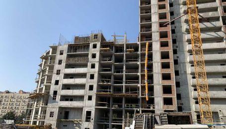 Динаміка будівництва житлового комплексу GENESIS станом на 01 вересня 2020 року